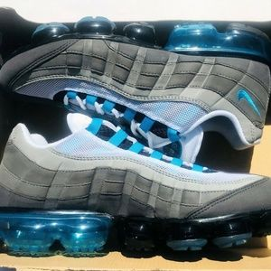 Nike Air Vapormax 95 Shoes Turquoise Black Grey